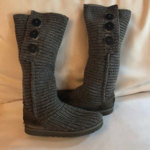 UGG knit boots